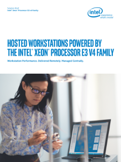 Brief: Intel® Xeon® Processor Hosted Workstations