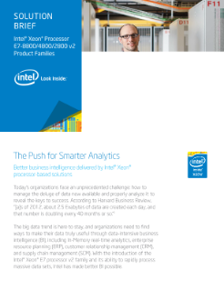 The Push for Smarter Analytics