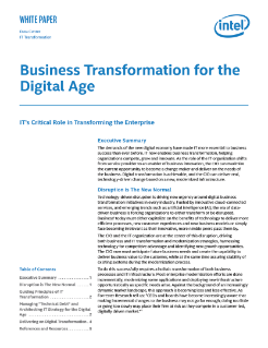 Business Transformation for the Digital Age