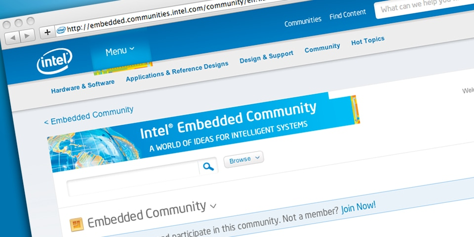 Intel® Embedded Community