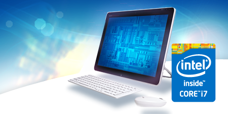 All-in-One PC Performance: Intel® CoreTM i7-4770R Processor